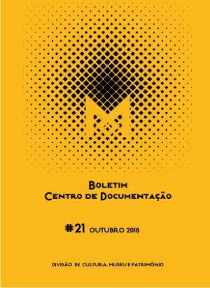 Boletim do Centro de Documentação N.º 21