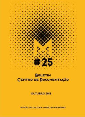 Boletim do Centro de Documentação N.º 25